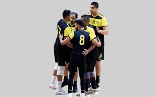 الصورة: الوصل يتصدر دوري الكرة الطائرة