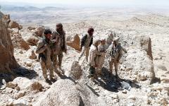 الصورة: «التحالف» يدمّر منصات وصواريخ باليستية للميليشيات في صنعاء