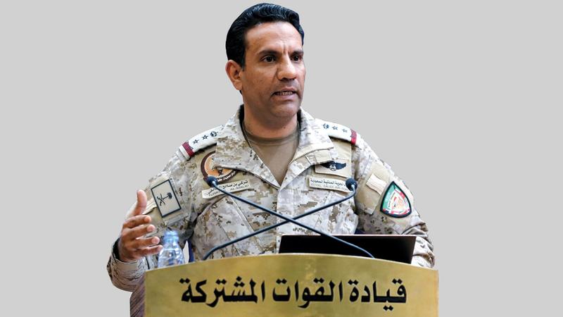 تركي المالكي: «الميليشيات الحوثية مستمرة في انتهاك القانون الدولي الإنساني بإطلاق الصواريخ الباليستية، وسقوطها عشوائياً على المدنيين».