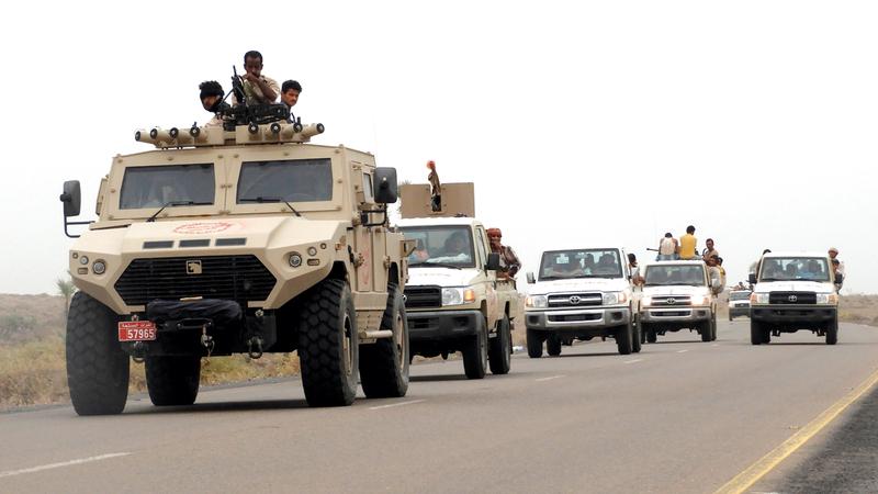 الجيش اليمني يواصل التصدي للميليشيات الحوثية في جبهات عدة.   أرشيفية