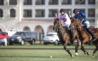 ميثاء بنت محمد تقود فريق الإمارات في مواجهة «مهرة» ببطولة اليوم الوطني للبولو
