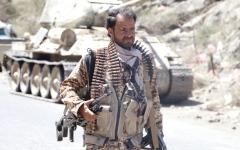 الصورة: «التحالف» يدمّر تعزيزات للميليشيات الحوثية في 4 محافظات يمنية