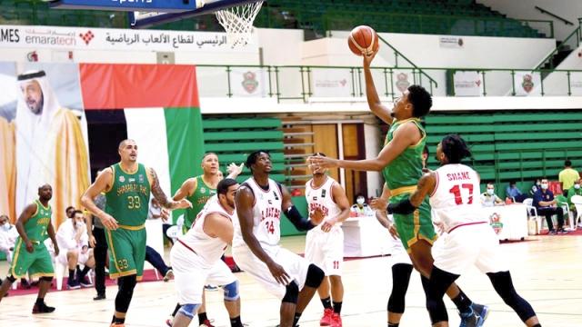 صورة شباب الأهلي والوحدة يعزّزان صدارتهما لدوري السلة – رياضة – محلية