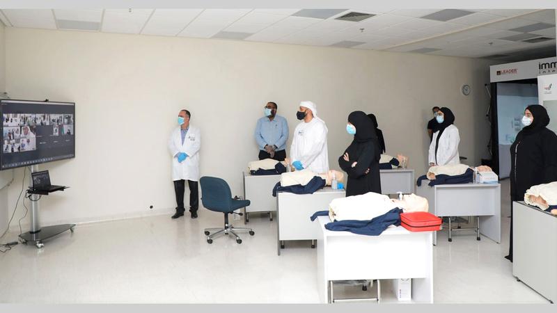 الإمارات حققت بالتطوّع مهام إسناد نوعية لجميع فئات المجتمع.  من المصدر