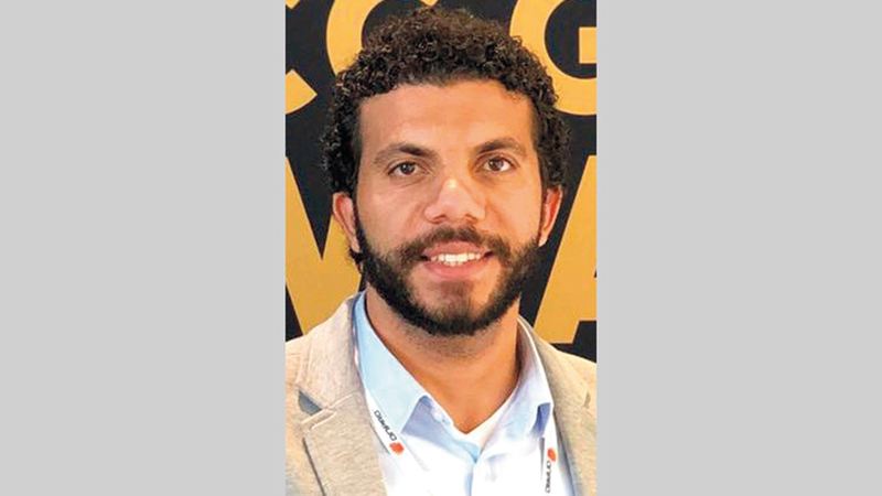 محمد عبدالرحمن:  «الأمان أصبح في التعامل مع آلة، في ظل الظرف الصحي الذي يعانيه العالم».