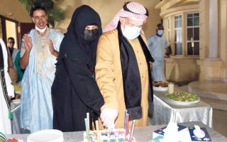 الصورة: احتفال في نواكشوط باليوم الوطني الإماراتي