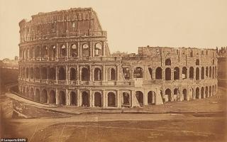 الصورة: بالصور: روما.. قبل 180 عاماً