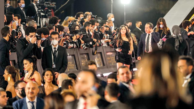 الدورة الـ42 من المهرجان أكدت عدم تجاهلها أي فنان أو قامة سينمائية مصرية. رويترز