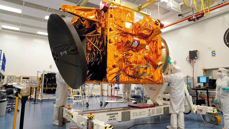 من المقرر أن يصل «مسبار الأمل» إلى المريخ يوم 9 فبراير 2021.  أرشيفية