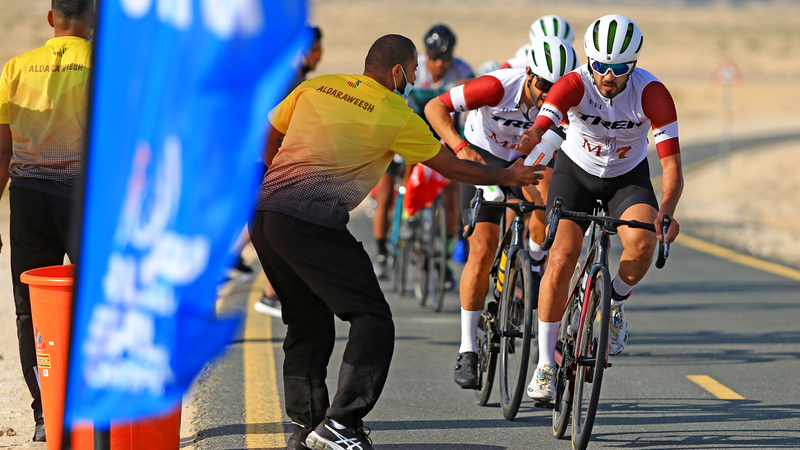 «تريك أم 7» نال المركز الأول على مستوى الفرق.  الإمارات اليوم