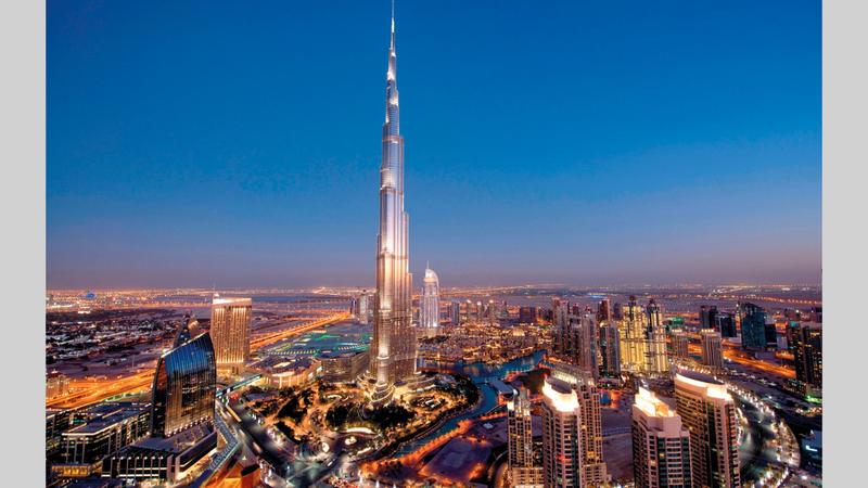 نفاد الحجوزات الخاصة بالمطاعم التي تتيح مشاهد بانورامية لأفق دبي.   أرشيفية