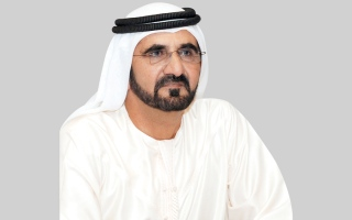 الصورة: محمد بن راشد يزور مقر أمن الدولة في دبي