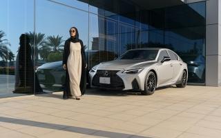 الصورة: الفطيم لكزس تطلق سيارة IS الجديدة كلياً في الإمارات