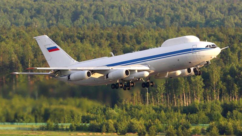 طائرة بوتين «إليوشن 80» المخصصة لأمن الرئيس في الحرب النووية.  من المصدر