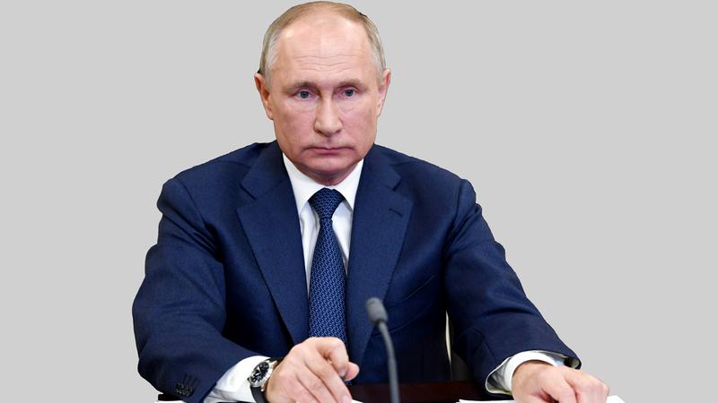 الرئيس الروسي يقول إن القيادة الروسية المتنقلة تعمل على أعلى مستوى.  رويترز