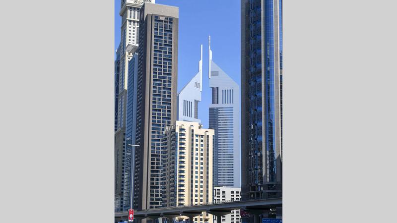 القانون حدد اختصاصات دائرة المالية ومؤسسة حكومة دبي الذكية.  تصوير: أشوك فيرما