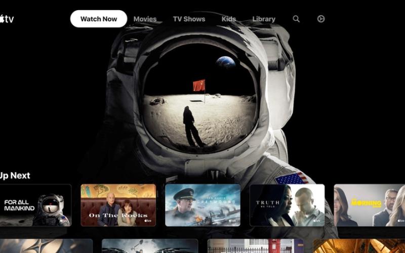 الصورة: «سوني» تُطلق تطبيق «Apple TV» لأجهزة تلفاز ذكية
