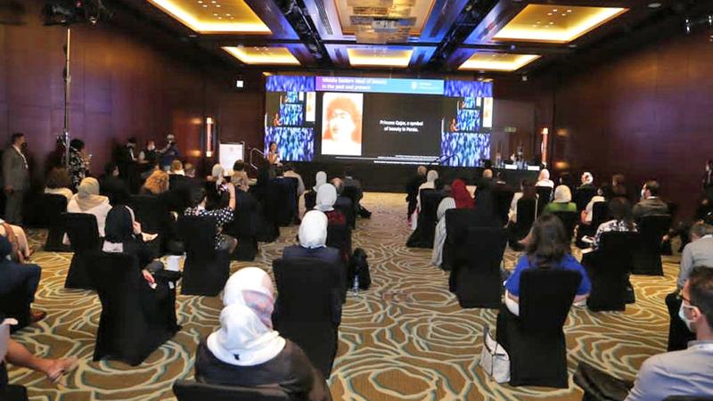 المؤتمر ناقش مستجدات طب الأمراض الجلدية والتجميل.  من المصدر