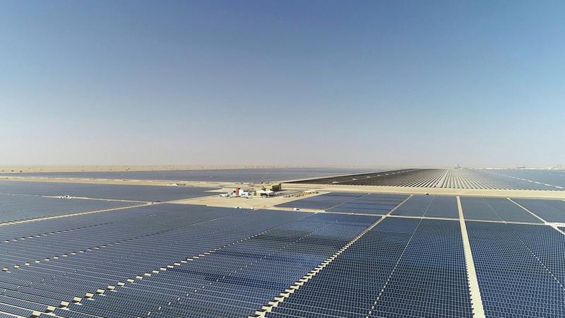 هيئة كهرباء ومياه دبي نفذت المرحلة الثالثة من المجمع وفق نظام المنتج المستقل للطاقة. من المصدر
