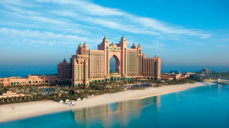 فنادق دبي تسجل مستويات إشغال عالية خلال ليلة رأس السنة.  أرشيفية