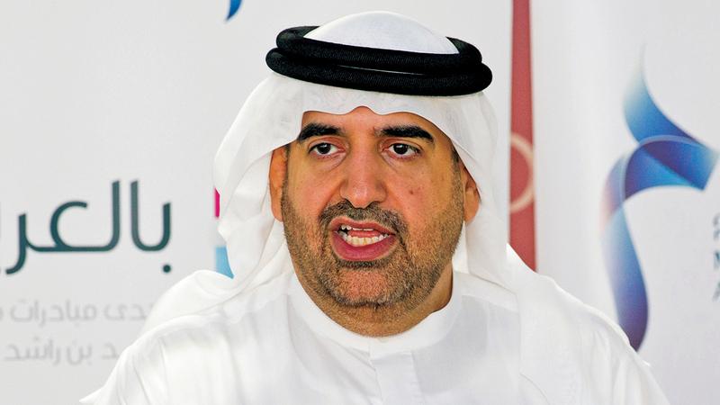 جمال بن حويرب:  «المبادرة أسهمت  على مدى  السنوات الماضية  في تعزيز استخدام  اللغة العربية بين جميع فئات المجتمع».