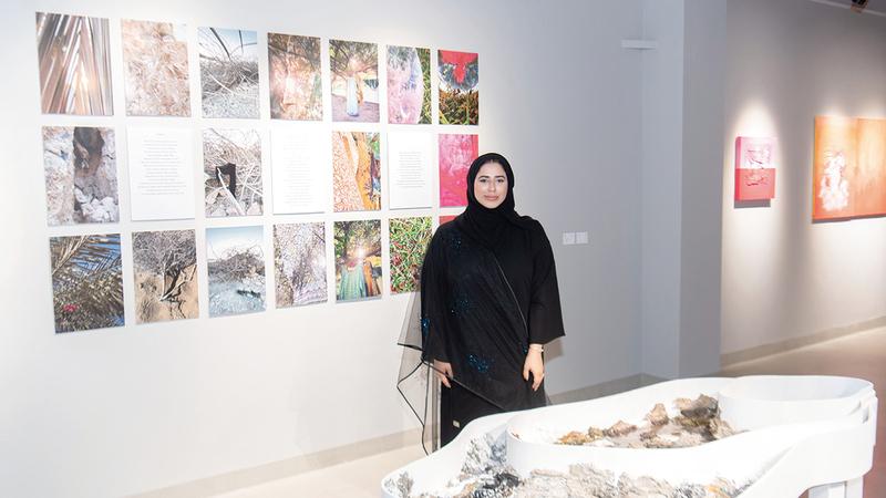 لمياء الشامسي:  «كفنانة لا أخشى طرح التجارب الشخصية.. فالفن يمثل قصة الفنان».
