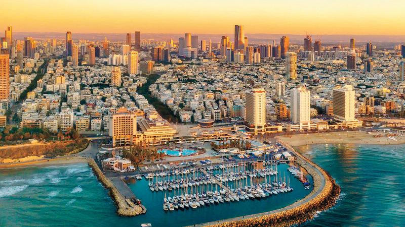 هكوهين: المدن في إسرائيل تستعد لاستقبال السياح من الإمارات مع الالتزام بالإجراءات الاحترازية. من المصدر