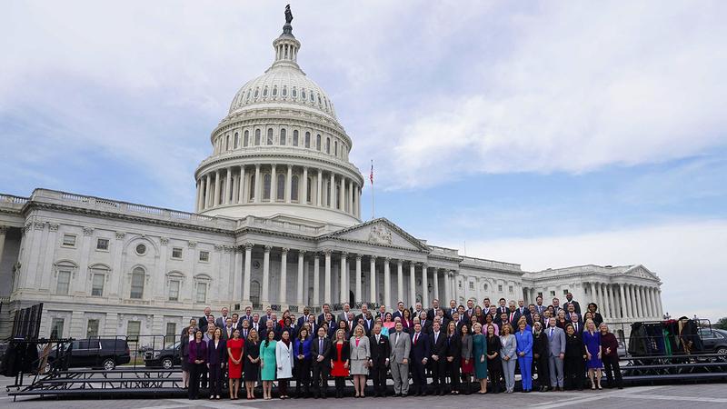 أعضاء الكونغرس المنتخبون في 2018.  أرشيفية
