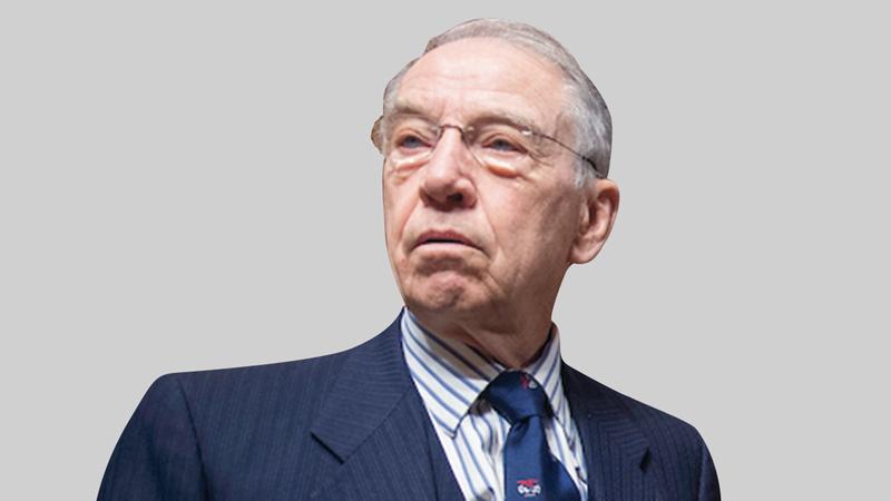السيناتور تشارلز جراسلي.  أرشيفية