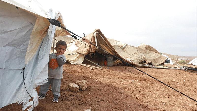 41 طفلاً في خربة حمصة شُردوا بفعل هدم منازلهم.  من المصدر
