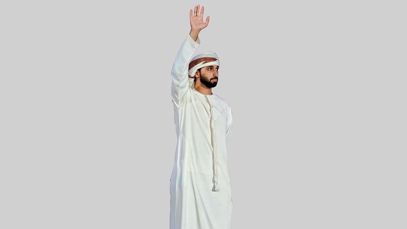 اليويل المتأهل عبدالله حميد النقبي. من المصدر