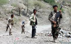 الصورة: الجيش اليمني والقبائل يسيطران على مواقع جديدة في مأرب والضالع