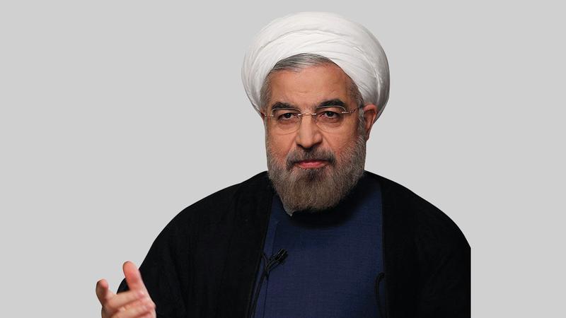 روحاني يستبعد استهداف تركيا لوحدة أراضي إيران استناداً إلى تجربته مع أردوغان.  أ.ب