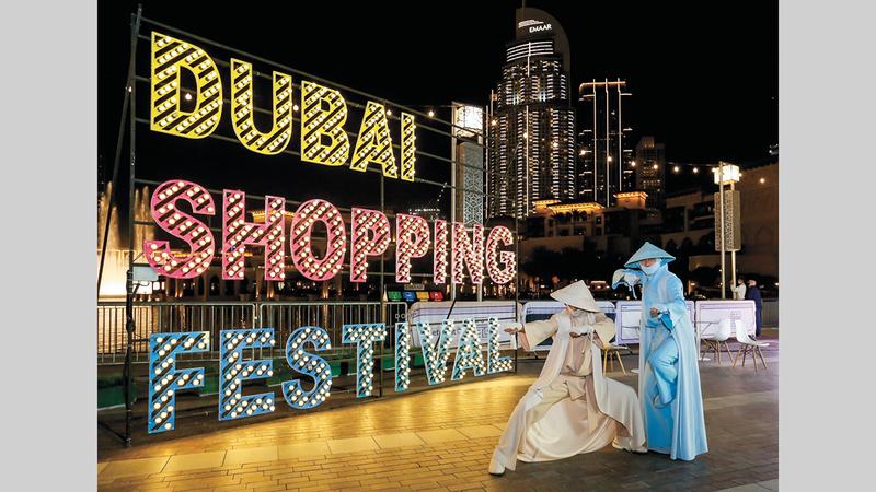مهرجان دبي للتسوق يتيح تجارب متميزة لفئات المجتمع كافة. من المصدر