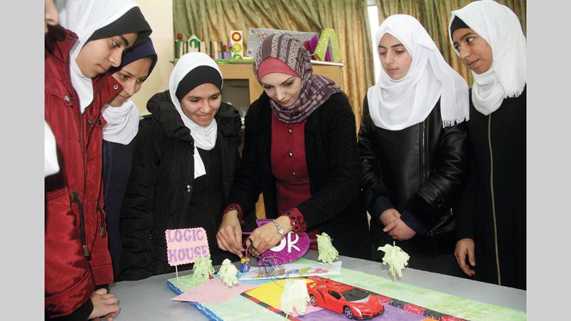 الفكرة التي أنجزتها «زيادة» هي مبادرة خلال فترة جائحة «كورونا» لاستمرار عملية التعليم. الإمارات اليوم