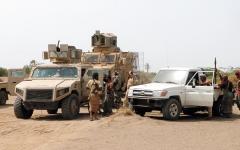 الصورة: مقاتلات التحالف تدمر تحصينات عسكرية ومنصة صواريخ حوثية في حجة