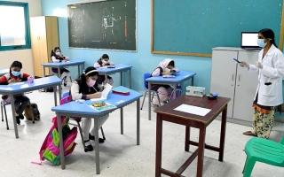 الصورة: فحص «كورونا» مجاني لطلبة الحلقتين الثانية والثالثة في أبوظبي