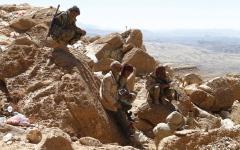 الصورة: 98 قتيلاً من الميليشيات في معارك بمحيط صنعاء خلال يومين