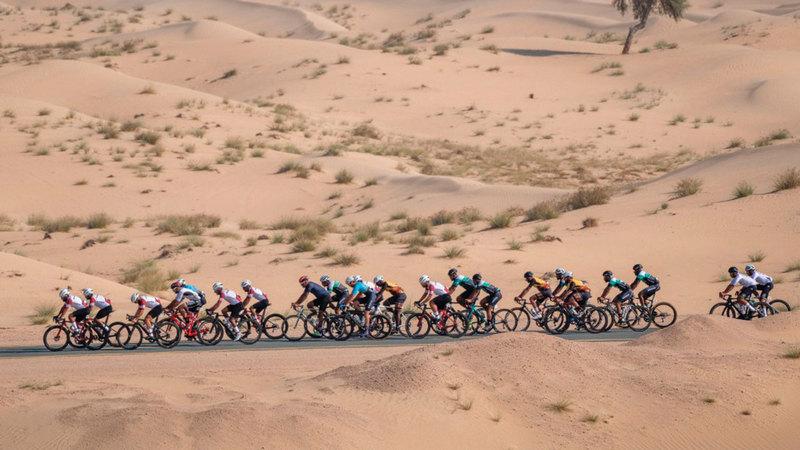 بطولة السلم تضيف سباق الدراجات الجبلية ضمن برنامجها السنوي.  من المصدر