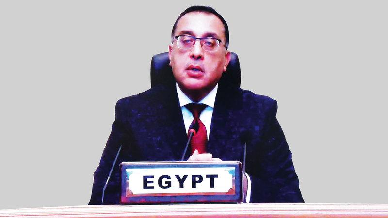رئيس الوزراء المصري: «وسائل الإعلام أصبحت إما مصدر قوة للدول أو مصدر ضعف لها».