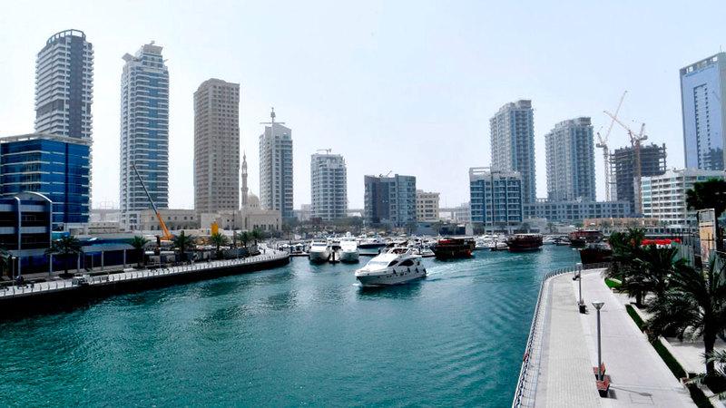 «مرسى دبي» تصدرت مناطق الإمارة من حيث قيمة البيع خلال 2020. أرشيفية