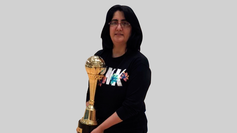 ريم هلال: «قادتني مصادفة في 2000 إلى إحداث تغيير جذري في مسيرتي، والتحول إلى نشاط كرة السلة».