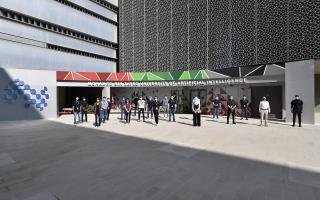 الصورة: وصول طلبة جامعة محمد بن زايد للذكاء الاصطناعي إلى أبوظبي