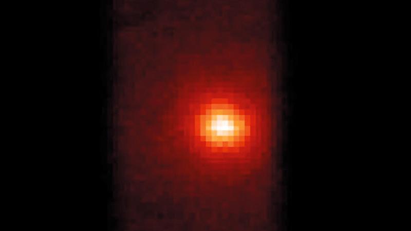 أول صور التقطها «المسبار» للكوكب الأحمر.