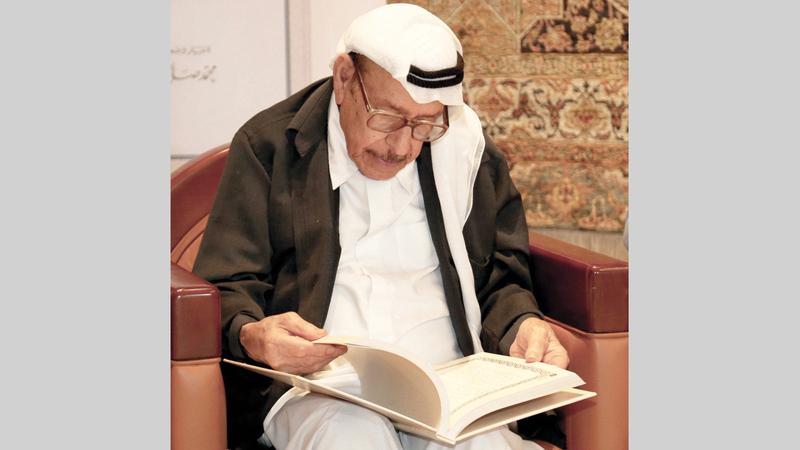 محمد صالح القرق غاب في الثامن من نوفمبر الماضي.  أرشيفية