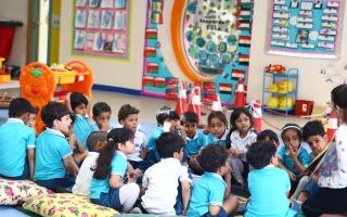 الصورة: رياض الأطفال في الفجيرة تقدّم تعليماً مباشراً على فترتين