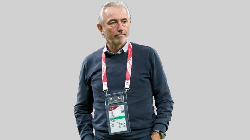 المدرب الهولندي مارفيك.   من المصدر