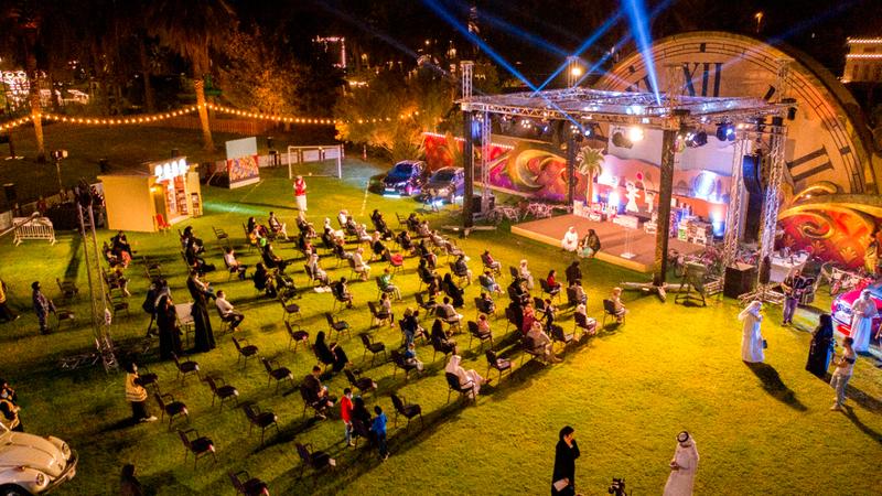 فعاليات «المهرجان» استضافتها حديقة المنتزه بمدينة الشارقة. من المصدر