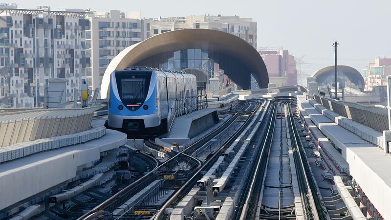 سعة قطارات مسار 2020 من 643 إلى 696 راكباً.  تصوير: باتريك كاستيلو