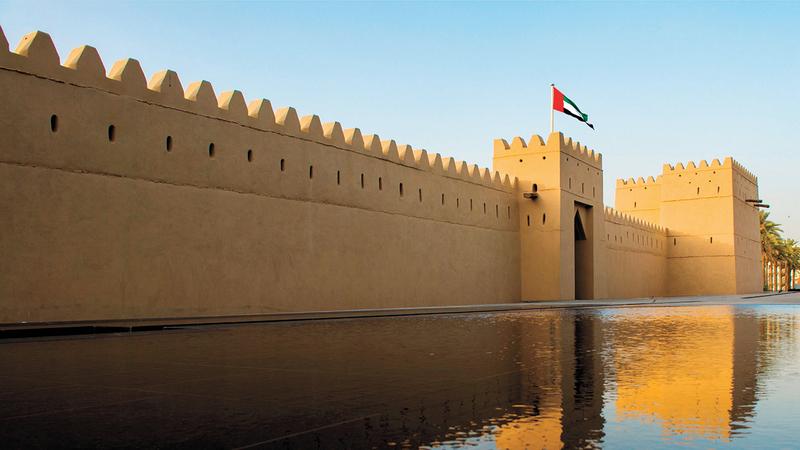 القصر من المواقع الثقافية في العين المُدرجة ضمن قائمة «اليونسكو». أرشيفية